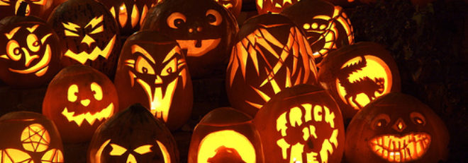 Orleans Co. Tree Service Pumpkin Carving Contest!